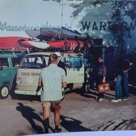 foto von altem warturmer bootshaus